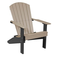 Non Wood Adirondack Chairs Reclining Gravity Lakeside Chair Recycled Patio Fine Oak Things