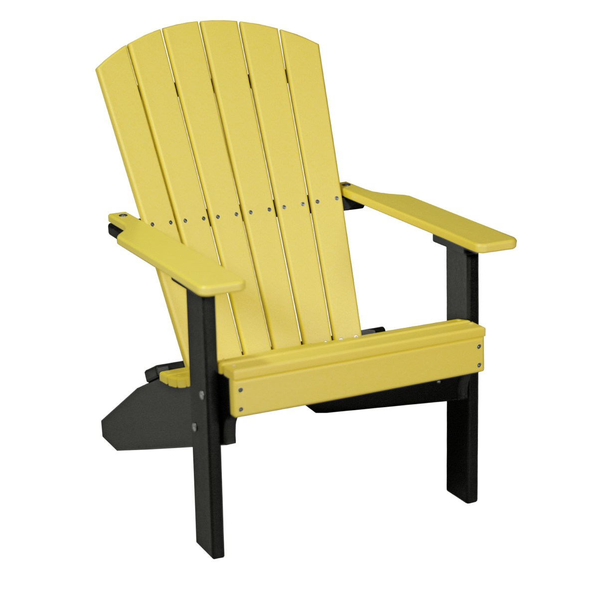 yellow adirondack chairs plastic tables and cohoes lakeside chair recycled patio fine oak things