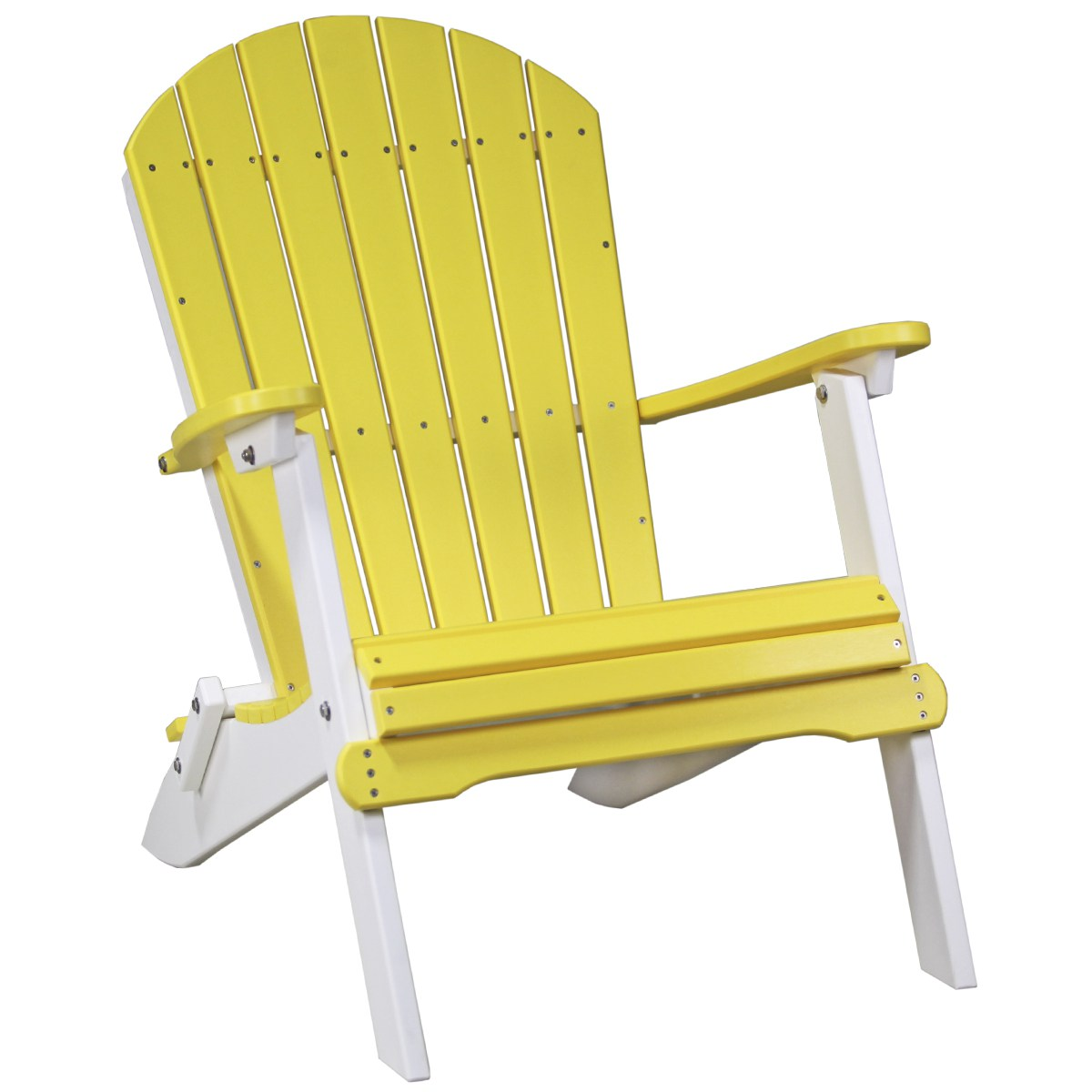 folding chair yellow glass top table and chairs adirondack recycled patio fine oak things