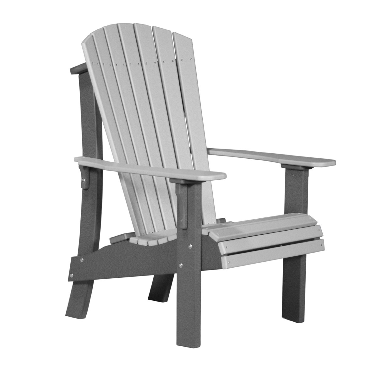 gray adirondack chairs antique wicker rocking chair royal recycled patio fine oak things