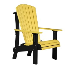 Yellow Adirondack Chairs Plastic Burgundy Office Chair Royal Recycled Patio Fine Oak Things