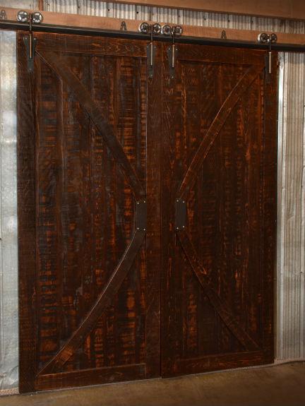 single chair sofa beds l shaped set in india rustic carlisle barn door | fine oak things