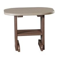Outdoor End Table | Recycled Patio | Fine Oak Things