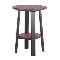 Tall Deluxe End Table | Recycled Patio | Fine Oak Things