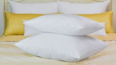 California Company Sells Luxury 'Fine Pillow' That Actually Helps People Get a Good Night's Sleep