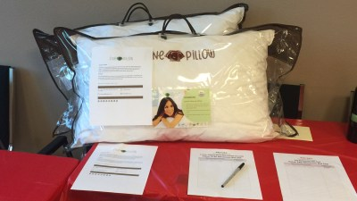 Fine Pillow Helps Promote Worthy Causes with Donation to Keller Williams Realty's Annual Red Day!