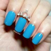 crown nail ring fine polish
