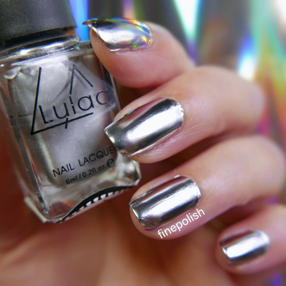 lylaa silver chrome effect