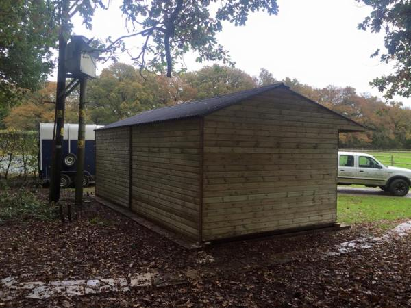 12 x 24 Double Garage / Store Shiplap Timber