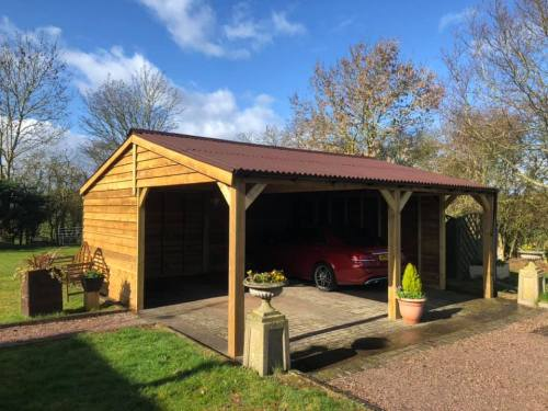 Timber Car port