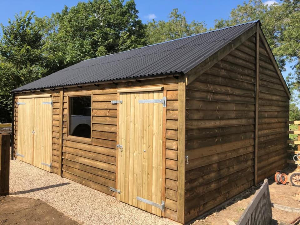 Timber Garage and Store