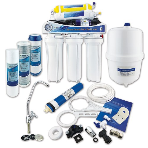 Finerfilters Domestic Undersink 6 Stage Pumped Reverse Osmosis System