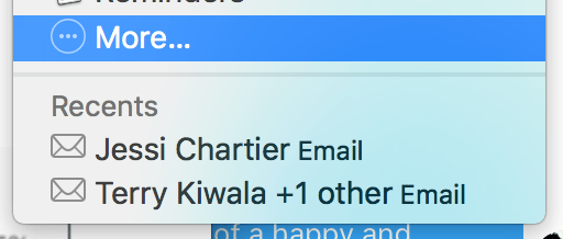 Messages for Mac: Display avatars, disable alerts per-conversation