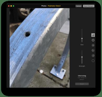 Photos for Mac edit with Pixelmator