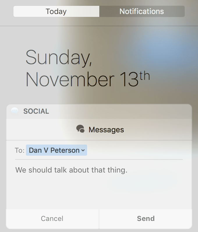 today-page-social-widget-send-imessage