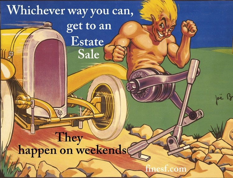 San Francisco Bay Area Estate Sales Advertising Graphic 22