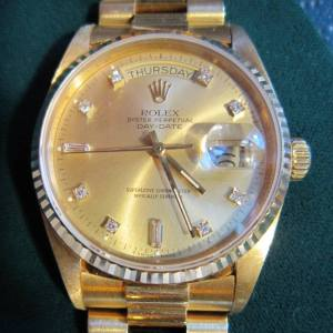 Vintage Rolex Watch Sold sold by fine estate