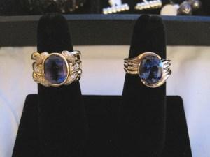 18K Tanzanite Ring