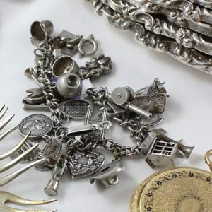 Sterling Charm Bracelets