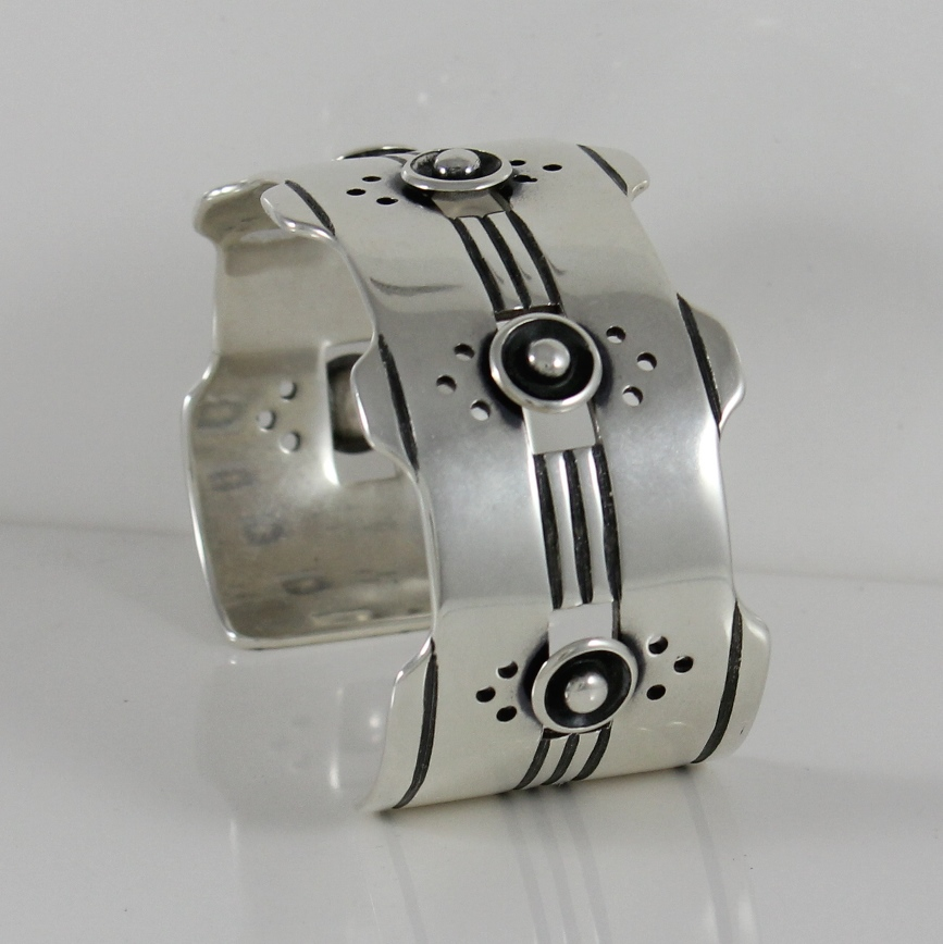Sold: Sam Patania Sterling Silver Bracelet in the Rio Plata Design $400