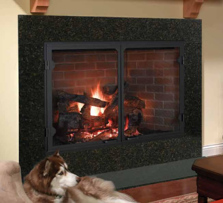 Wood Fireplace Inserts Today Burning Pics Kits Reviews Prices Yebuzz Heatilator Icon-100 50 Inch Wood Burning Fireplace