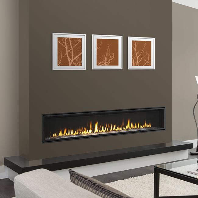 Echelon Ii Wide View 72 Inch Fireplace By Majestic  Fine