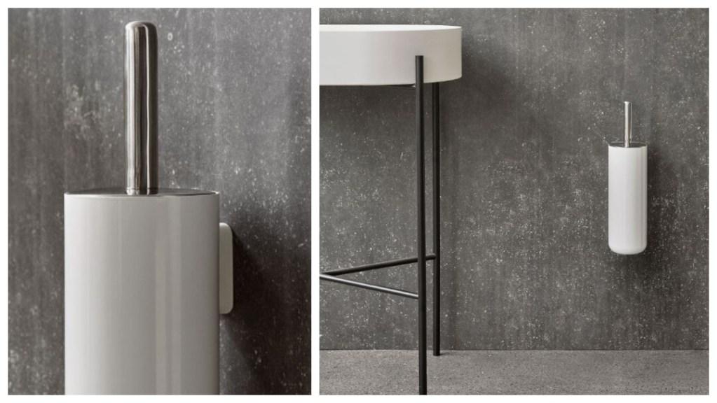 pappas julklapp 2019: toilet brush wall från norm architects