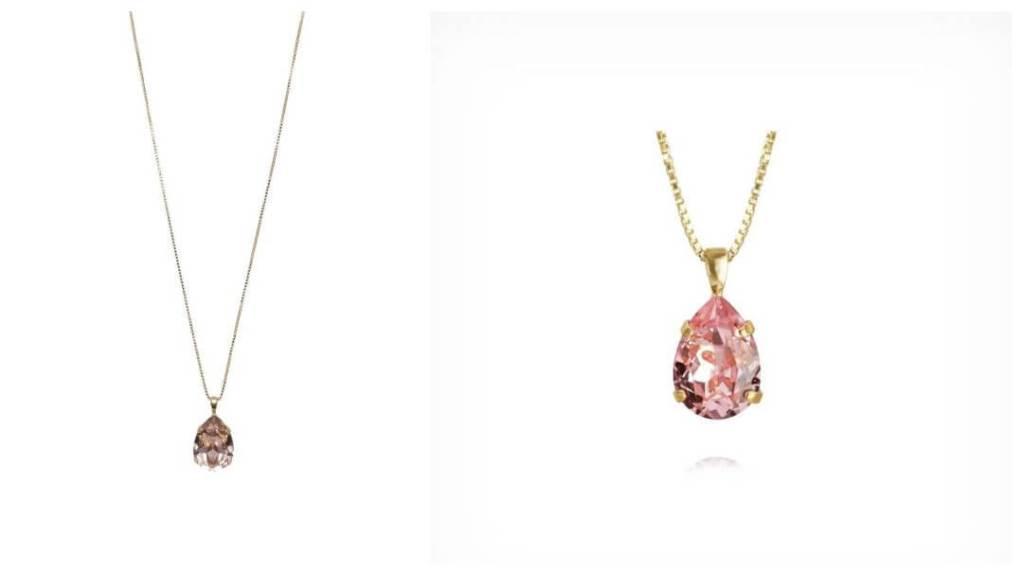 Mini Drop halskjede fra Caroline Svedblom Jewelry - Tips til eksamensgave