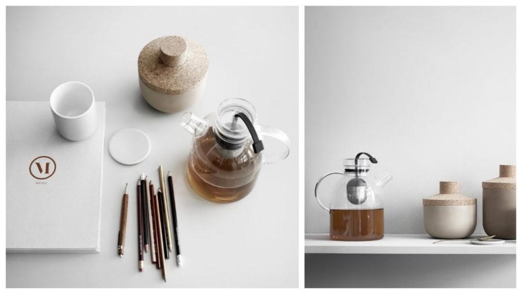 skandinaviska 40 års presenter: tekannan kettle från menu