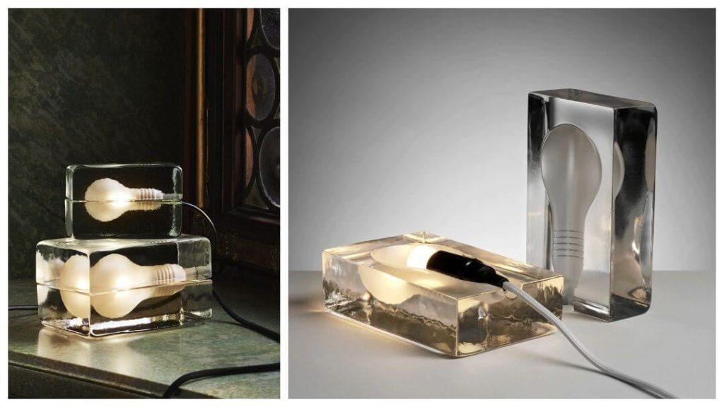 30 års present: Design house Stockholm block lampa