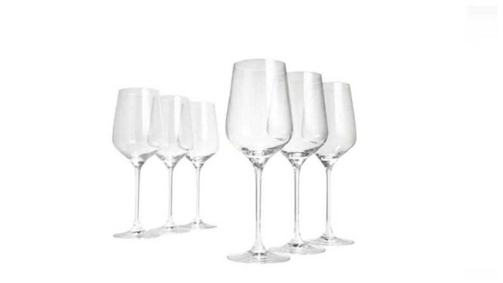 tips på forlovelsegaver: Celebration vinglass fra Table Top Stories