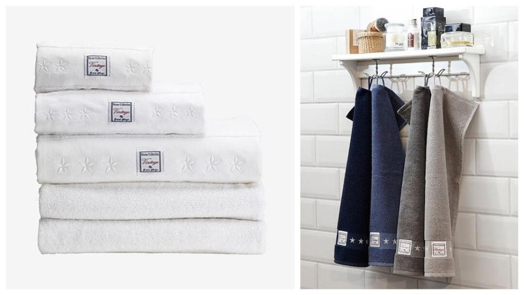tips på forlovelsegaver: Vintage badehåndkle fra Grand Design