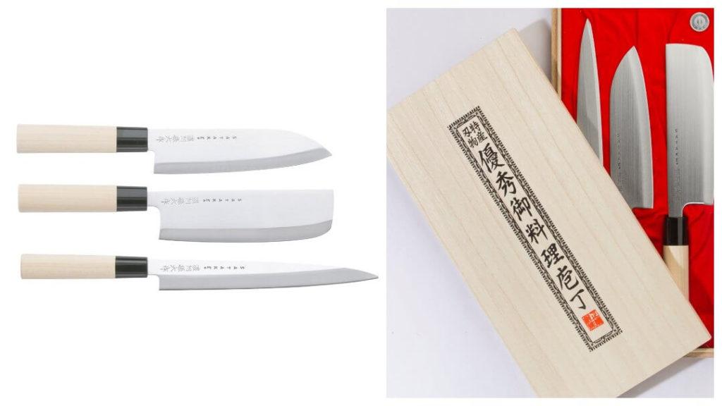 Presenttips till 50-åringen: Knivset Satake Houcho