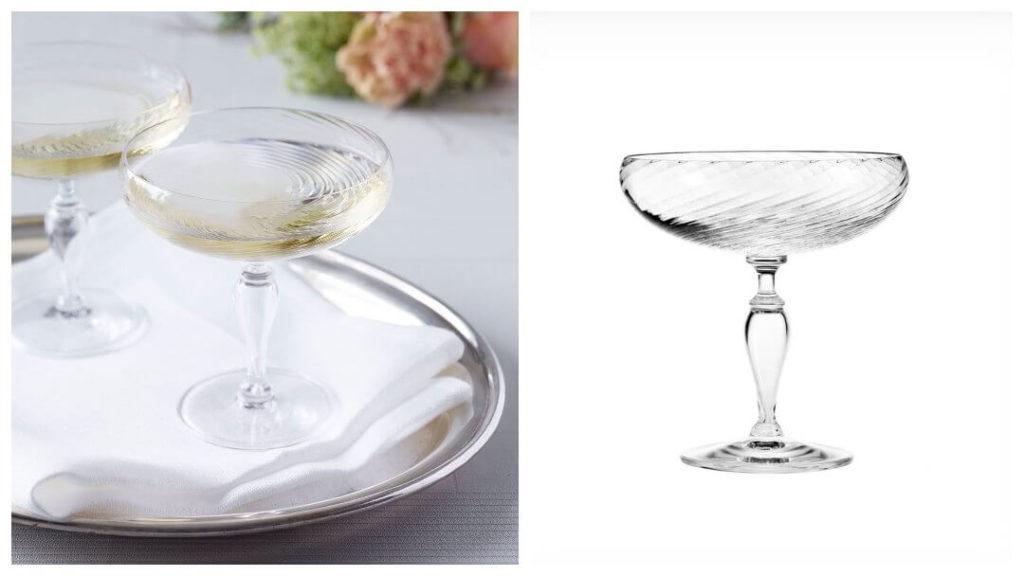Presenttips till 50-åringen: Regina champagneglas
