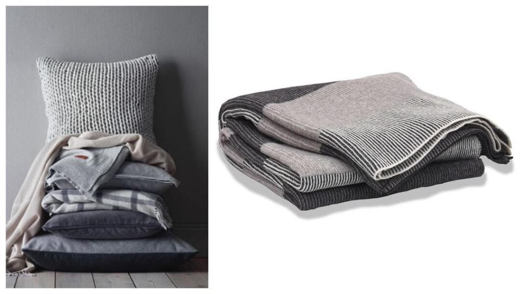 tips på forlovelsegaver: Gant knit pläd