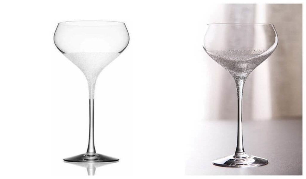 Lyxig present till henne: Divine Champagneglas Orrefors