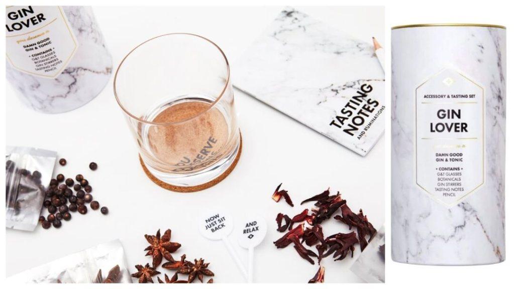 Gin Lovers Kit fra Men's Society - Gavetips til farsdagen