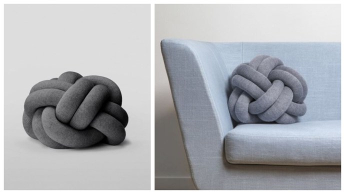 Gaveidé: The Knot pute fra Design House Stockholm