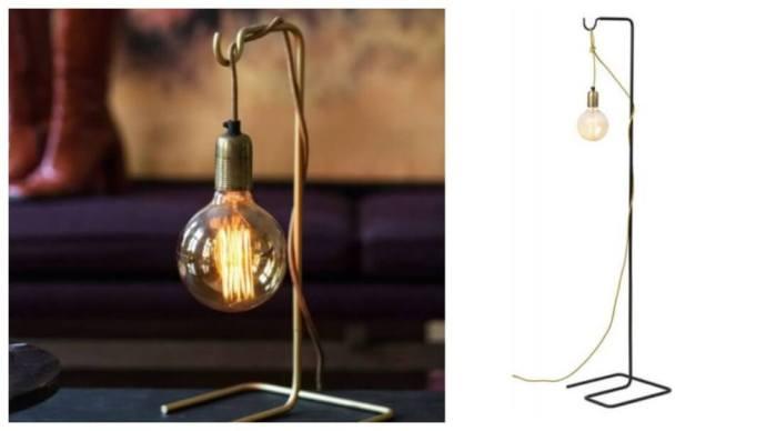 Gaveidé: Sladdis lampe fra Watt & Veke