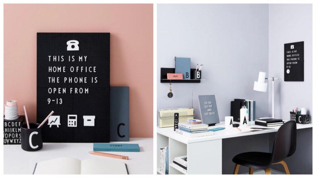 Gaveidé: oppslagstavle fra Design Letters.