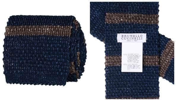 Farsdagsgavetips: Strikket slips fra italienske Brunello Cucinelli