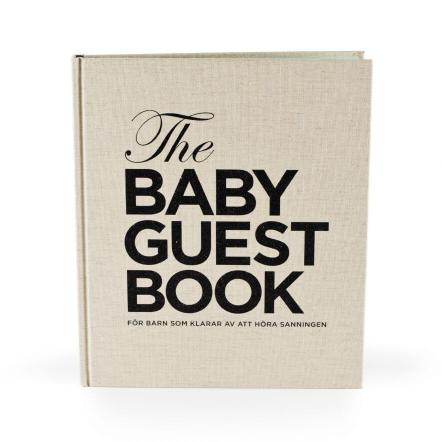 Doppresent: the baby guest book (gästbok)