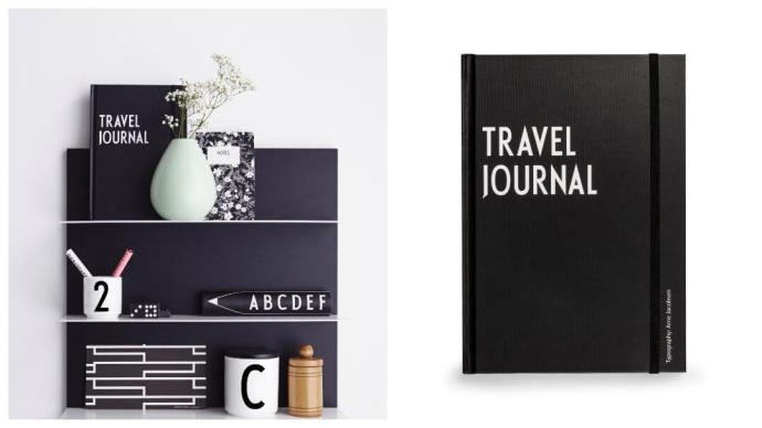 Gavetips til 30-årsdagen: reisedagbok fra Design Letters by Arne Jacobsen