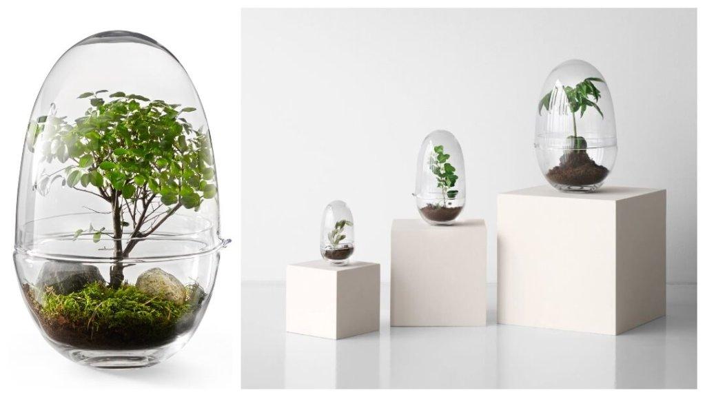Årets ideer til bryllupsgave: Grow Glass XL veksthus fra Caroline Wetterling