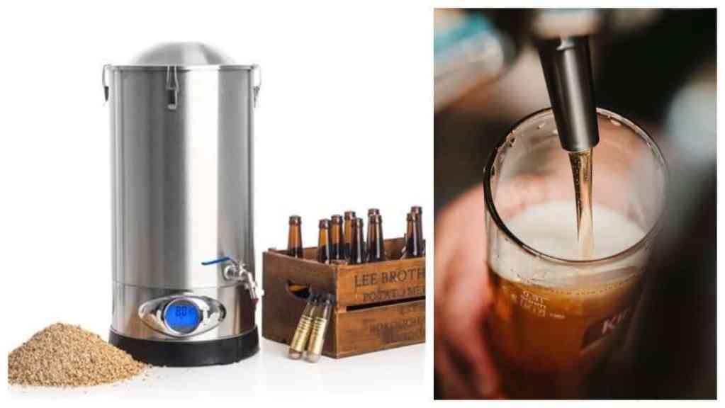 Gavetips til 30-årsdagen: komplett ølbryggesett