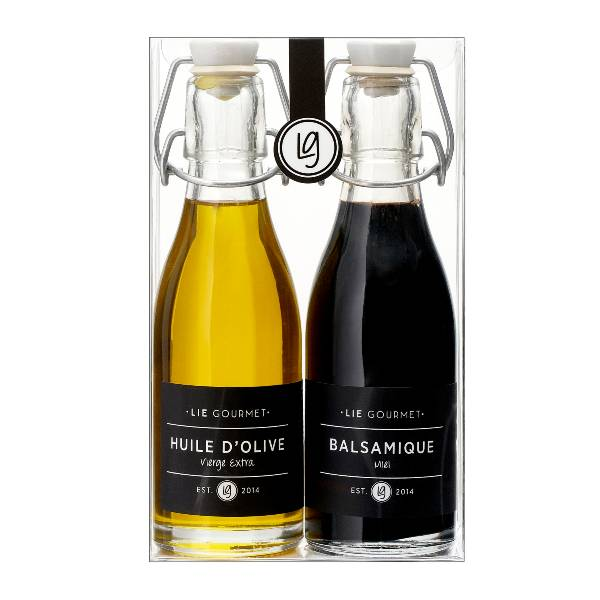 Til gavekurven -olivenolje og balsamico-eddik
