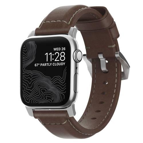 Tips til bryllupsdagsgave - Nomad Reim for Apple Watch i ekte skinn