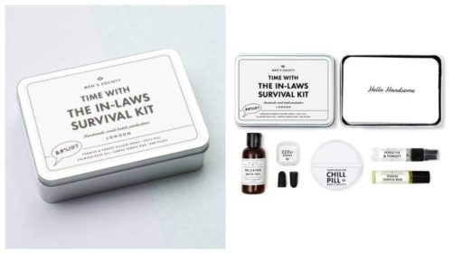 julegavetips: Time With the In-Laws Survival Kit