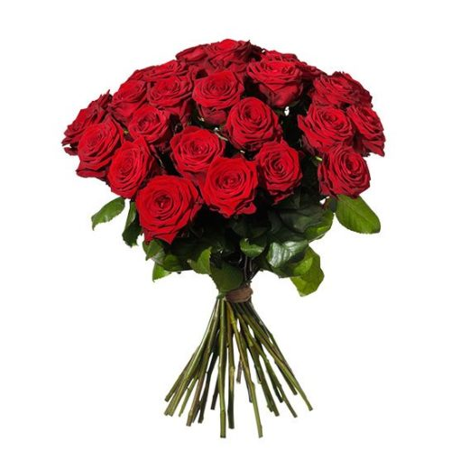 30 röda rosor