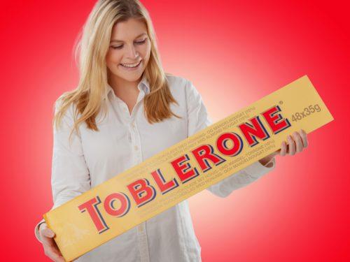 Gigantisk Sjokolade Toblerone